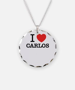 I Love CARLOS Necklace