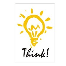 Think Postcards (Package of 8)