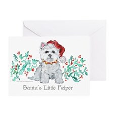 Westhighland White Terrier Sa Greeting Cards (Pk o
