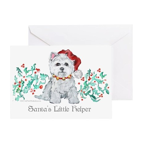 Westhighland White Terrier Sa Greeting Card