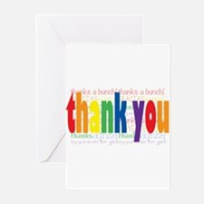 Rainbow Thank You Greeting Cards