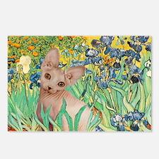 Irises / Sphynx Postcards (Package of 8)