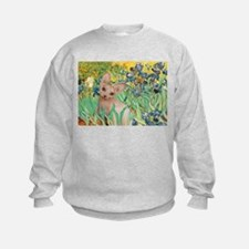 Irises / Sphynx Sweatshirt