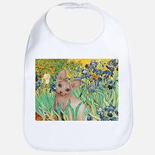 Irises / Sphynx Bib