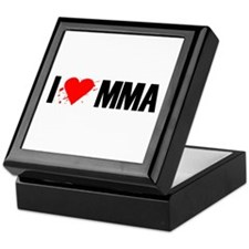 I love MMA Keepsake Box