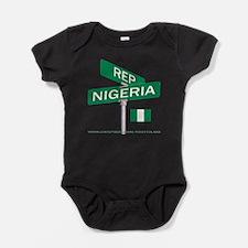 Cute Nigeria Baby Bodysuit