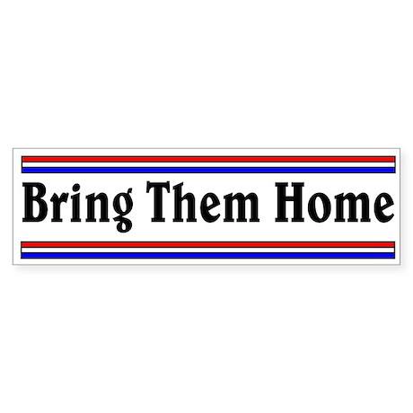 Bring Them Home Bumper Sticker
