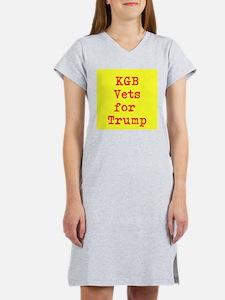 KGB Vets for Trump Women's Nightshirt