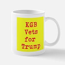 KGB Vets for Trump Mugs