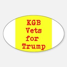 KGB Vets for Trump Decal