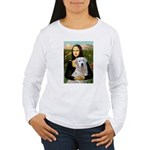 Mona's Light Golden (O) Women's Long Sleeve T-Shir
