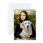 Mona's Light Golden (O) Greeting Cards (Pk of 20)