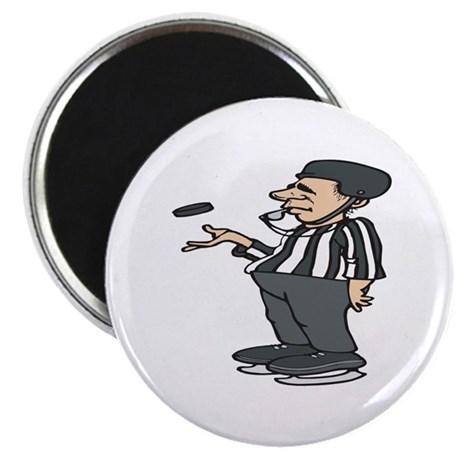 "Hockey Referee 2.25"" Magnet (100 pack)"