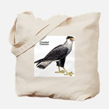 Crested Caracara Bird Tote Bag
