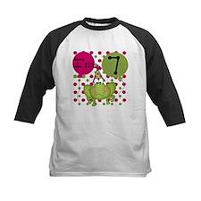 Frog 7th Birthday (pink) Tee