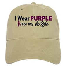 I Wear Purple For My Wife 3 (PC) Baseball Cap