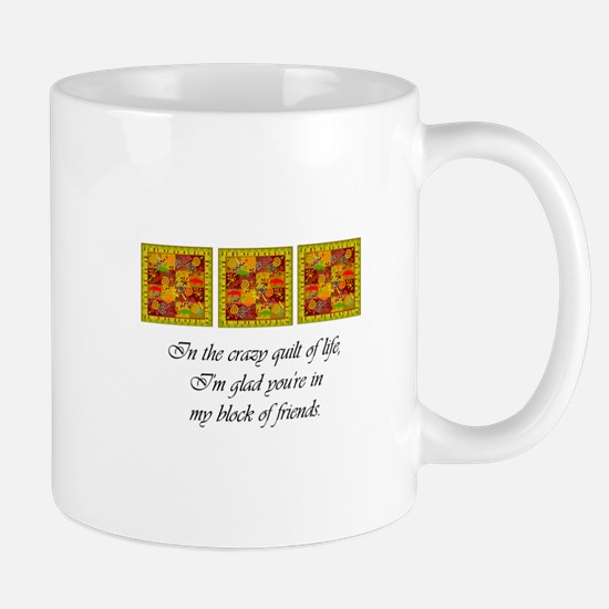 Friends - Crazy Quilt Mugs