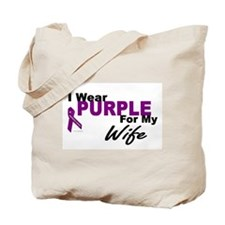 I Wear Purple For My Wife 3 (PC) Tote Bag