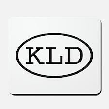KLD Oval Mousepad