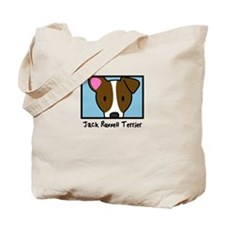 Anime Jack Russell Terrier Tote Bag