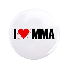 """I love MMA 3.5"""" Button (100 pack)"""