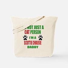 I'm a Scottie chausie Daddy Tote Bag