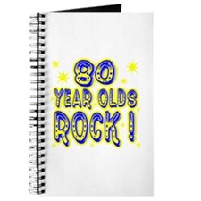 80 Year Olds Rock ! Journal