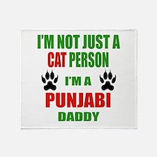 I'm a Punjabi Daddy Throw Blanket