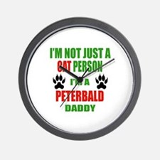 I'm a Peterbald Daddy Wall Clock