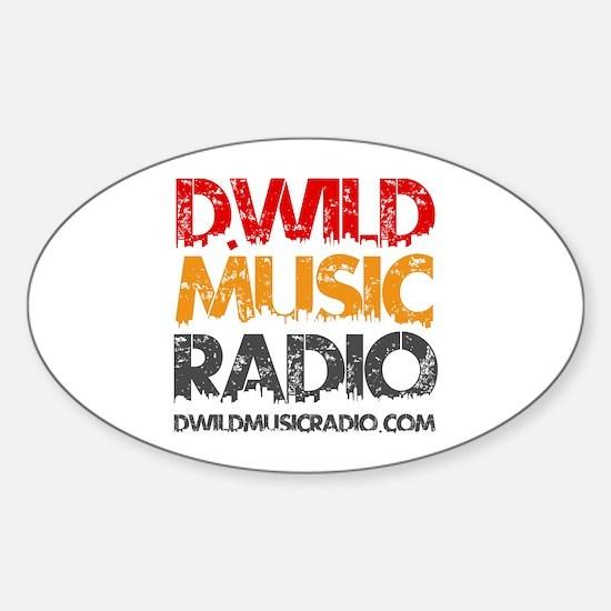 Dwild Logo #1 Sticker (oval)