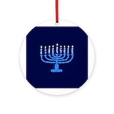 Chanukah Ornament (Round)