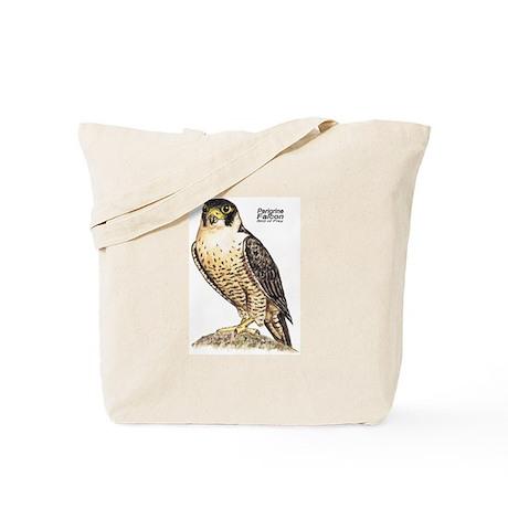 Peregrine Falcon Bird Tote Bag