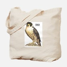 Peregrine Falcon Bird Tote Bag