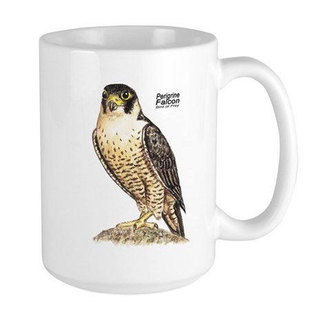 Peregrine Falcon Bird Large Mug
