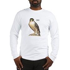 Peregrine Falcon Bird Long Sleeve T-Shirt