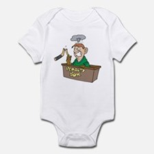 Man in Penalty Box Infant Bodysuit