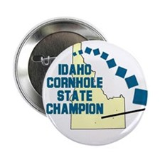 "Idaho Cornhole State Champion 2.25"" Button"