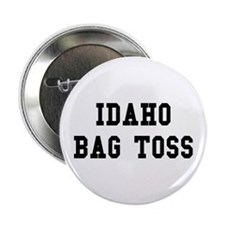 "Idaho Bag Toss 2.25"" Button"