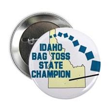 "Idaho Bag Toss State Champion 2.25"" Button"