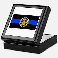 NOPD Thin Blue Line Keepsake Box