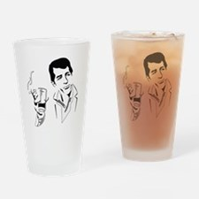 Cute 1950s Drinking Glass