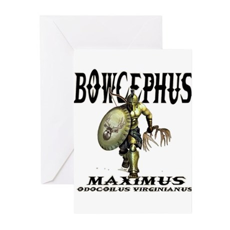 Bowcephus bow hunting art thi Greeting Cards (Pk o