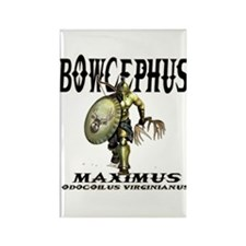 Bowcephus bow hunting art thi Rectangle Magnet