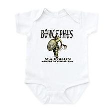 Bowcephus bow hunting art thi Infant Bodysuit