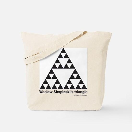 Unique Math fractal Tote Bag