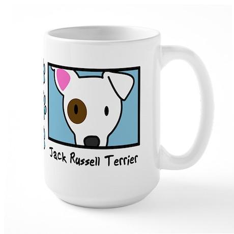 Anime Jack Russell Large Mug