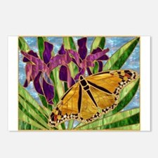 Butterfly With Iris Postcards (Package of 8)