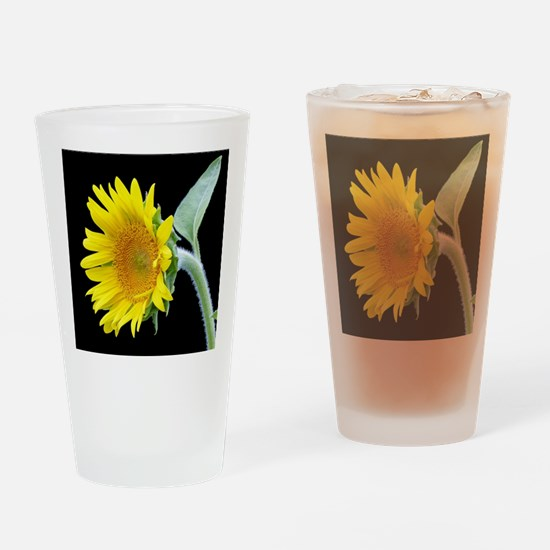 Small Sunflower Drinking Glass