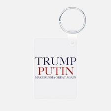 trump putin Keychains