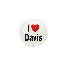 I Love Davis Mini Button (10 pack)